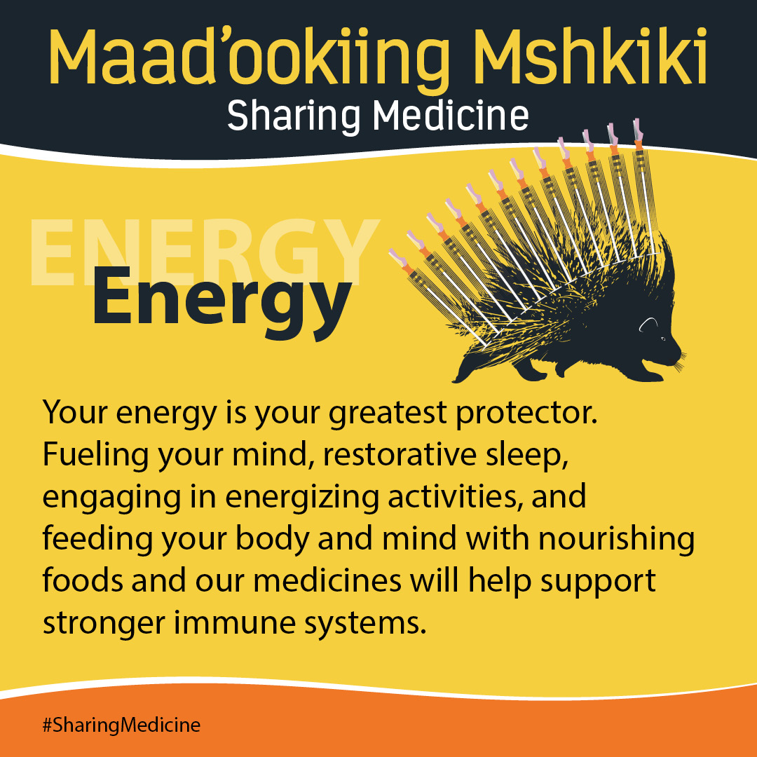 Sharing Medicine - Engergy