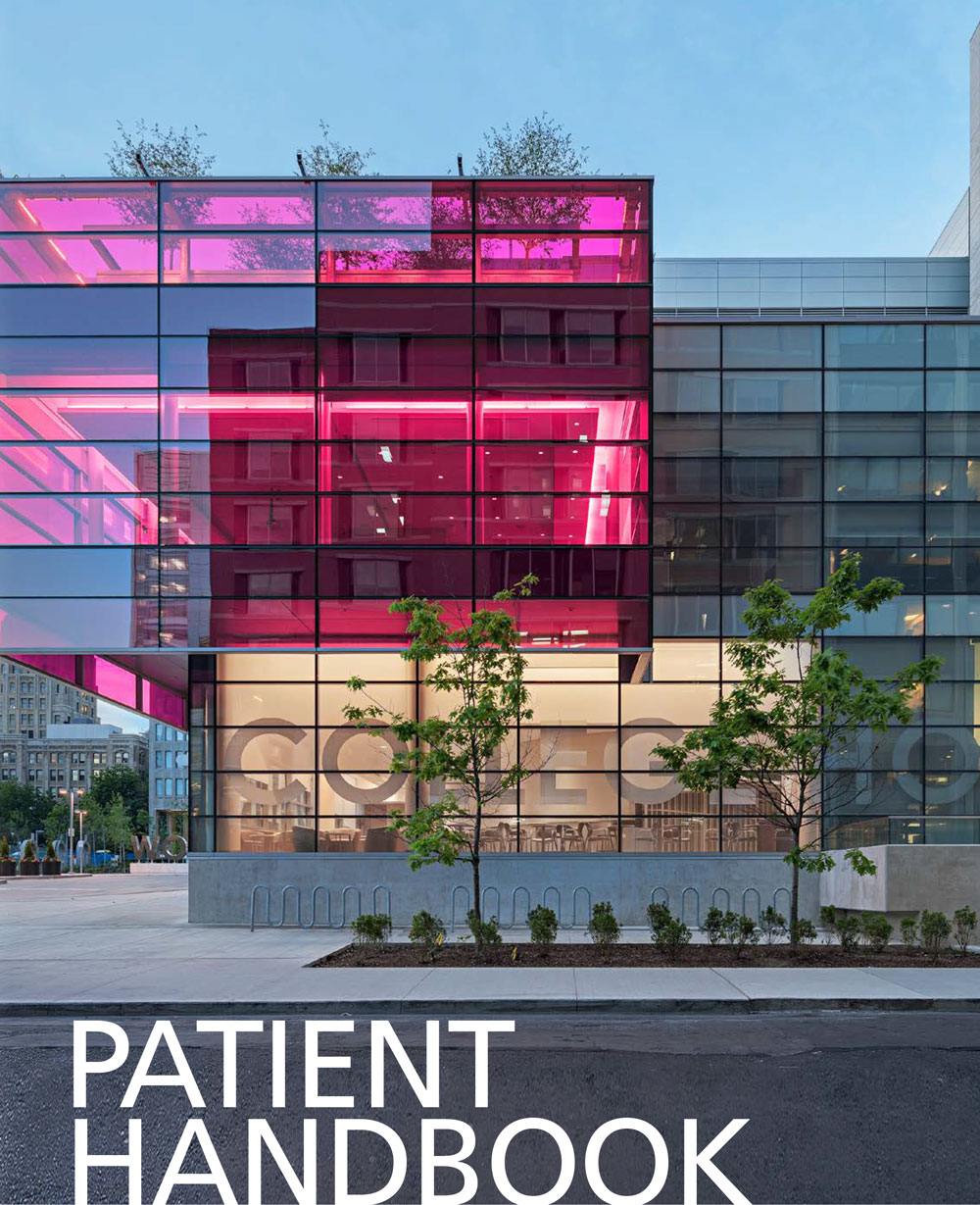 Women's College Hospital 2019 Patient Handbook cover